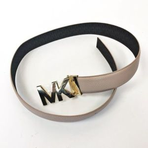 Michael Kors Womens Signature Belt NEW Large Pink
